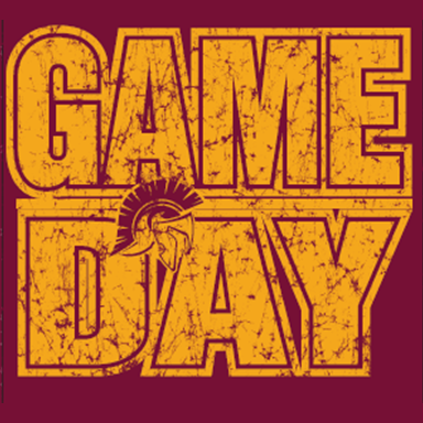 20-21 Game Day T-Shirts Maroon Nampa Christian Trojan Pro Shop