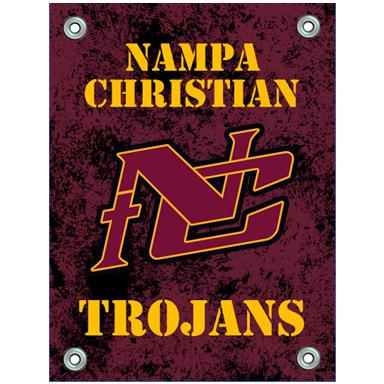 Banners NC Logo Nampa Christian Trojans