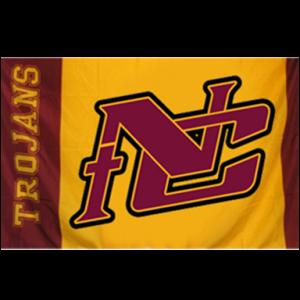 Flags NC Logo Nampa Christian Trojans