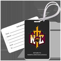 Trojans Gear Tags Cross Logo Nampa Christian Trojans