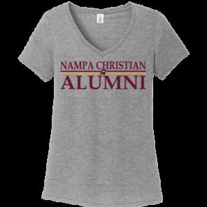 20-21 Alumni Women's T-Shirts Nampa Christian Trojan Pro Shop