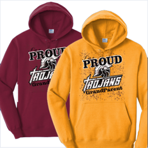 20-21 Grandparents Hoodies Nampa Christian Trojan Pro Shop