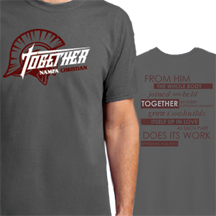 20-21 Together Theme T-Shirts Nampa Christian Trojan Pro Shop HP