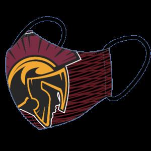 Logo Mask Trojan Head Logo Nampa Christian Trojan Pro Shop